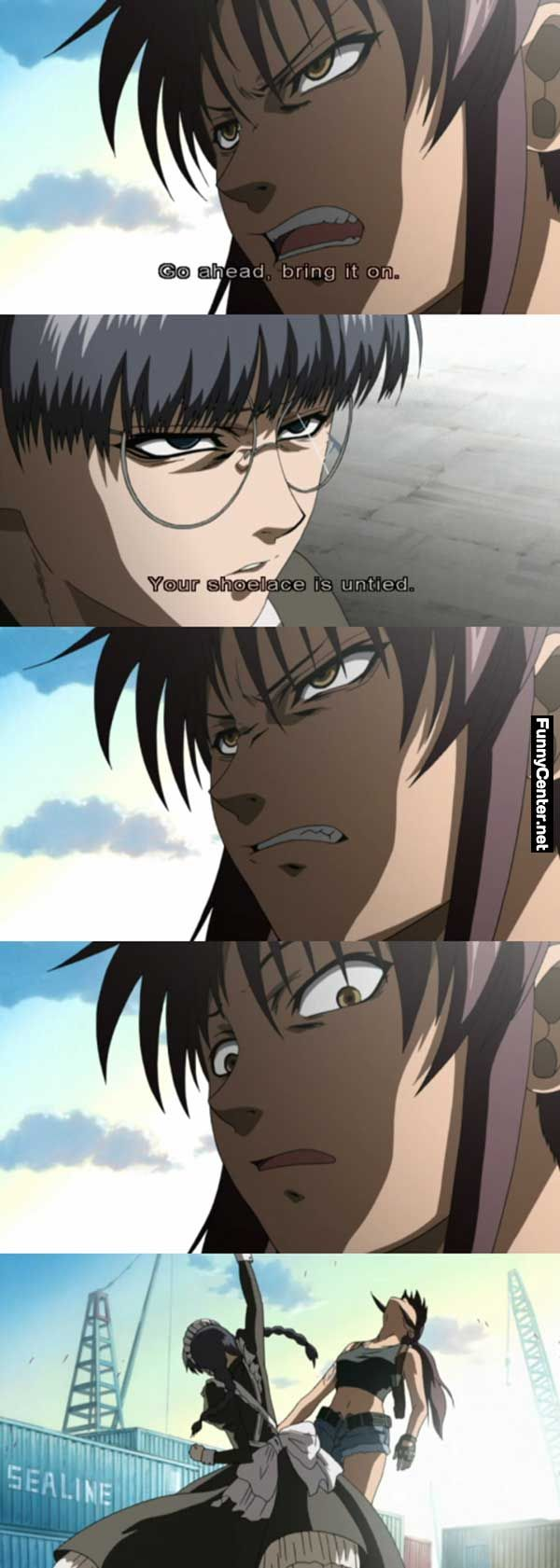 06c643d38c5d05f228613914f03f4c37 funniest memes funny memes cheap trick but it works anime black lagoon fun unlimited,Black Funny Memes To Download Now