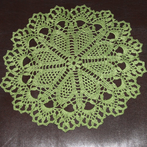 Christmas gift Crochet doily lace doily Christmas