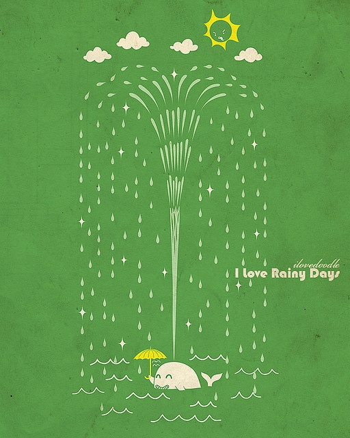 I Love Rainy Days: I Love Rainy And Bad-weather Days Becaus By Gary A. Klein