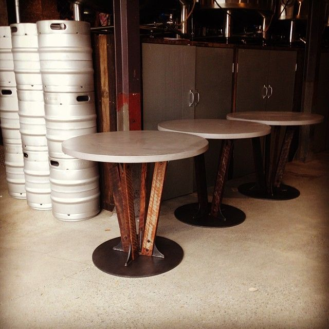 Newstead Brewery POPconcrete MALT tables
