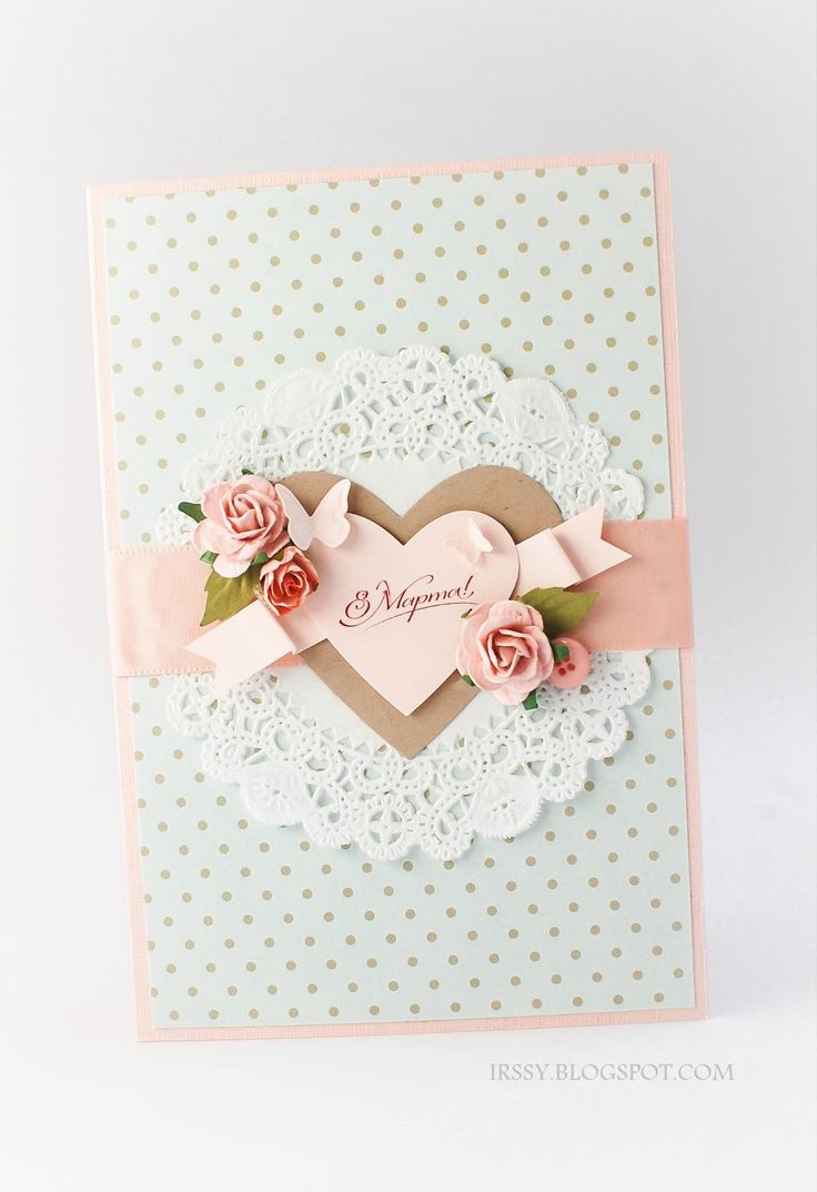 Stampin' with Irina - this would be a great card for an older lady (think mum's age....)