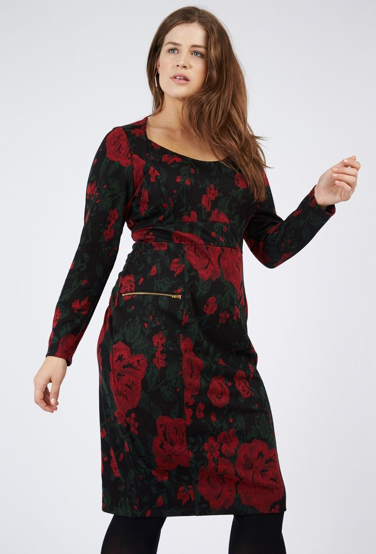 Anna scholz plus piped dress