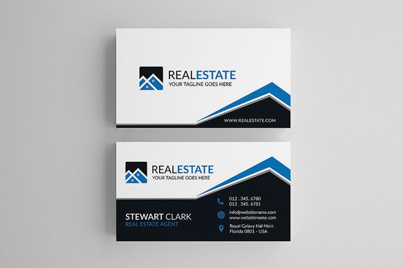 10 best real estate business card templates images on pinterest creative real estate business card accmission Images