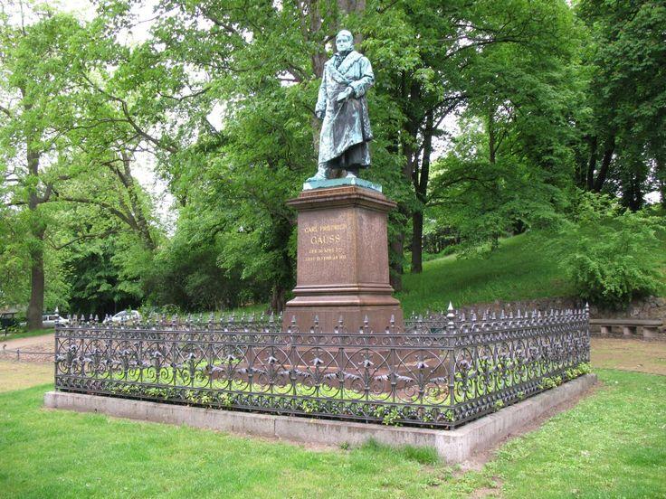 """* Johann Carl Friedrich Gauss *  Braunschweig/""""Brunswick"""", Baixa Saxônia. Alemanha."""