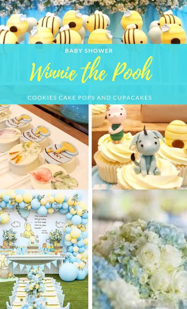 Wanting To Do A Cute Winnie The Pooh Theme Baby Shower Or Birthday