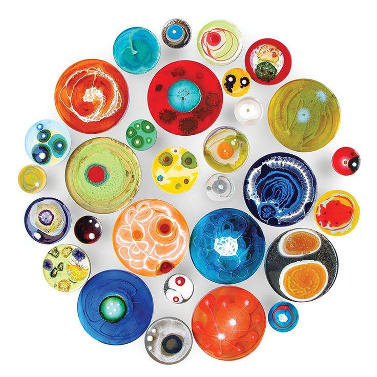 The Daily Dish, i piatti decorativi di Klari Reis