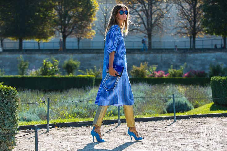 Top Street Style Looks from Paris Fashion Week SS16 | Part 1