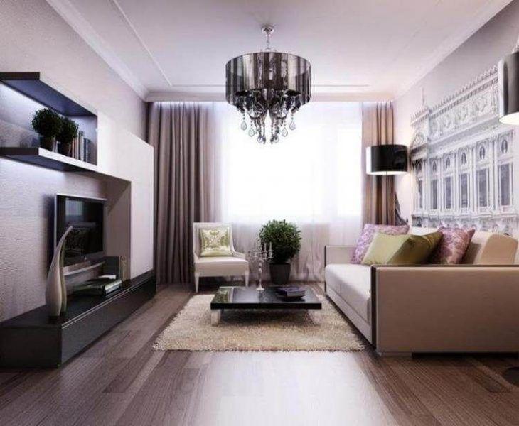 Как сделать свою гостиную уютной и функциональной. 23 потрясающие идеи – В  РИТМІ ЖИТТЯ | Small living rooms, Modern living room brown, Apartment decor