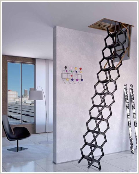 119 best attic ladder images on pinterest stairs and interior stairs
