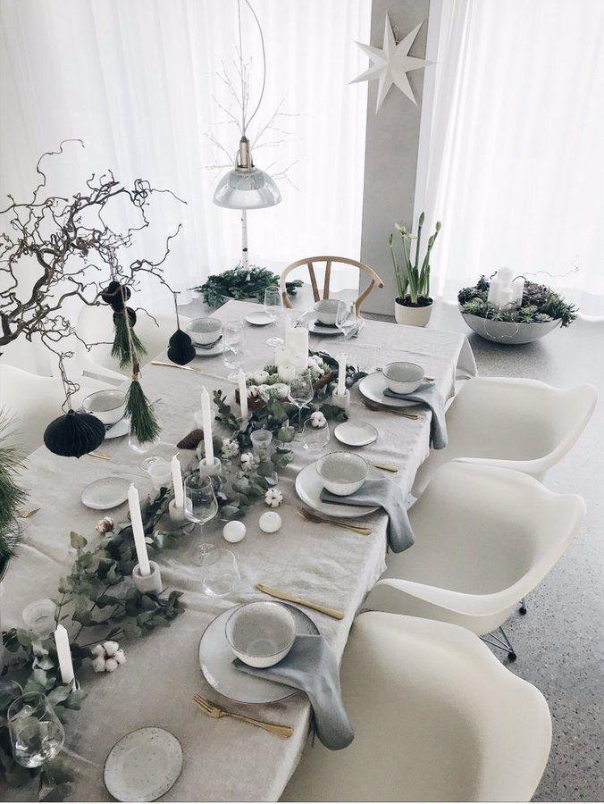 33+ Tischdeko weihnachten gruen silber 2021 ideen