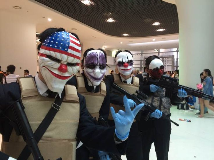Payday 2 Cosplay