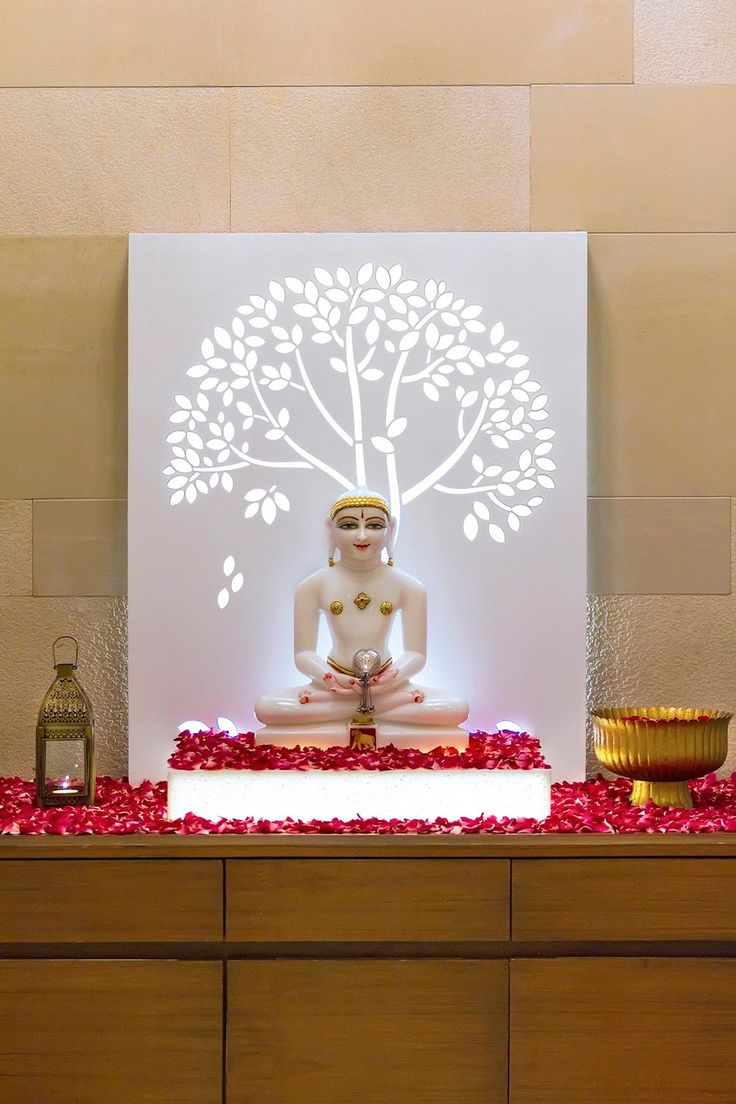 Hindu Prayer Room Design: 233 Best Images About PoojaRoom On Pinterest