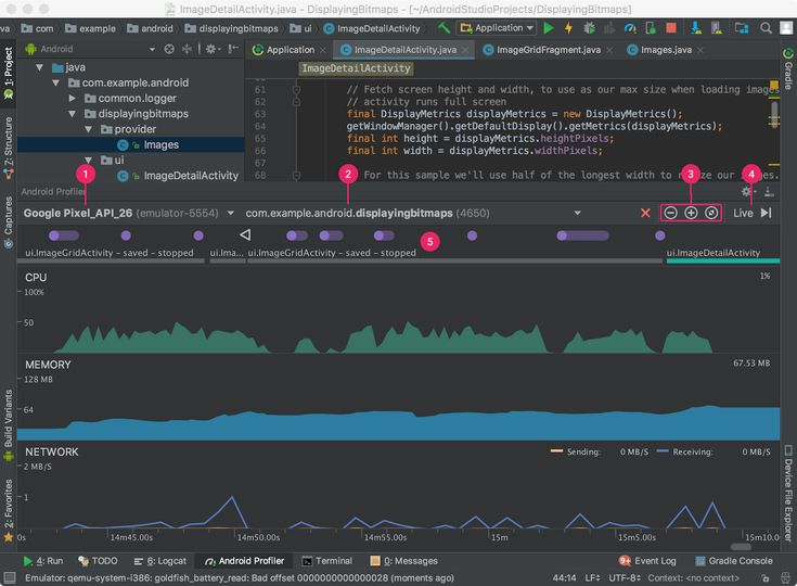 Measure App Performance with Android Profiler | Android Studio