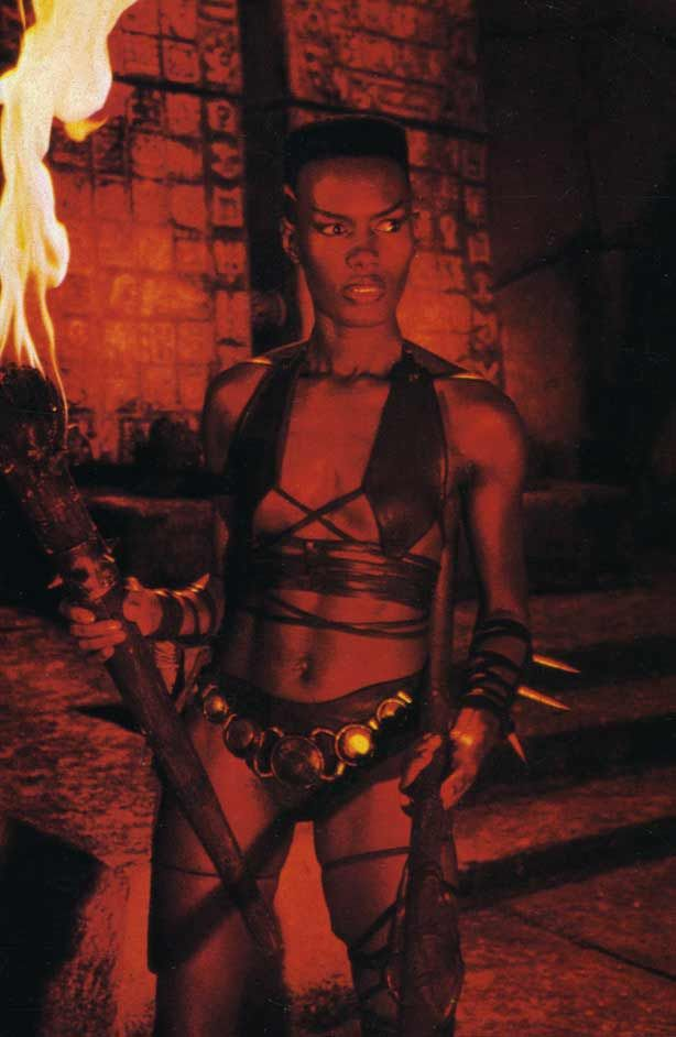 Grace Jones as 'Zula' in Conan the Destroyer (1984)