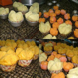 cherry's kitchen: Huat kueh -pumpkin, durian, sweet potato