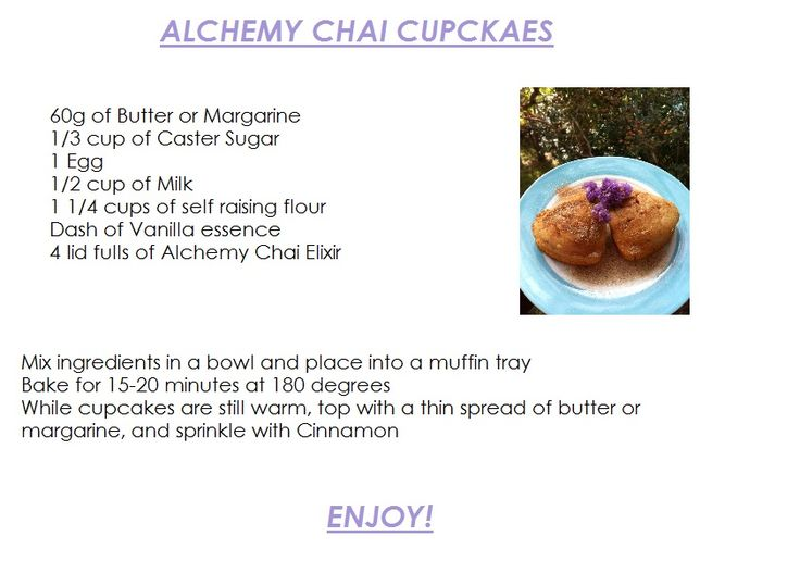 Chai Cupcakes - definitely making these this weekend, they look amazing :)
