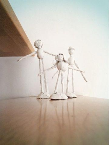 MARVAETA: Escultura con niños