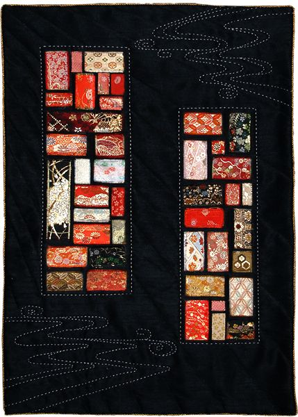 """""""Let it Be I"""" by Bernice Chan. 2012 Festival of Quilts (UK)."""