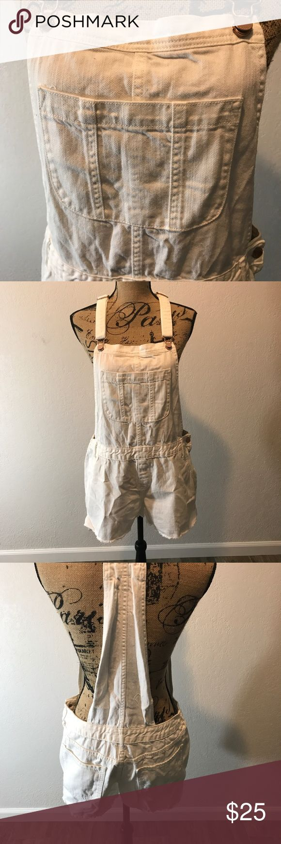 Overalls White old navy overalls NWT Old Navy Pants Jumpsuits & Rompers