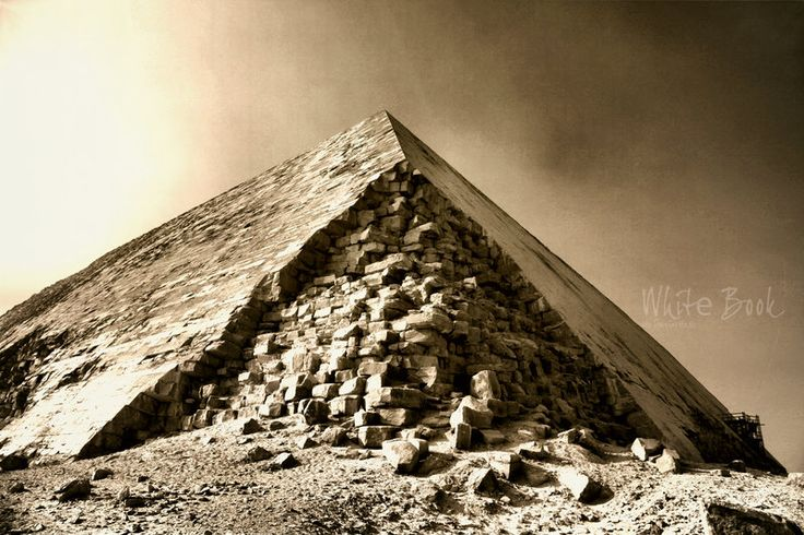 Bent Pyramid by WhiteBook.deviantart.com on @DeviantArt