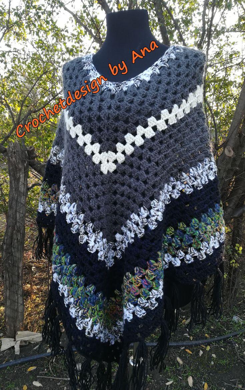 Crochet poncho, love ponchos