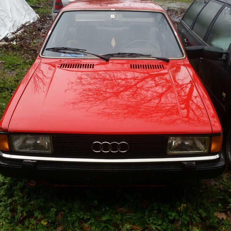 Seltener Scheunenfund Audi 80 B2 1,6 Diesel mit Papieren und Schlüssel, Bj. 1982