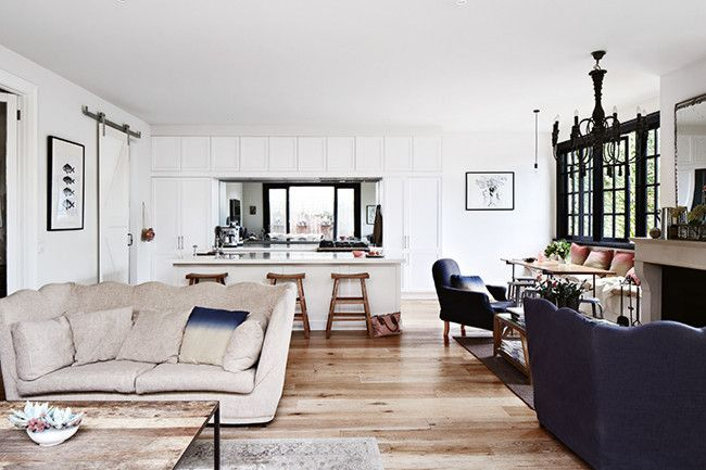 French inspired Melbourne home - Natural Timber Flooring