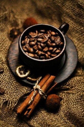 dark coffee beans - cafes aroma ...