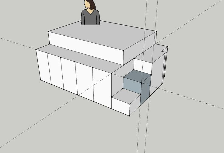 Bed underlay top structure