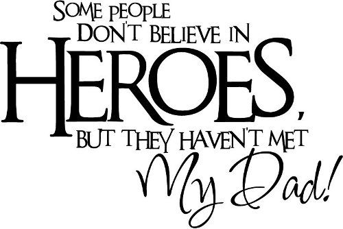 My Dad is my Hero Quotes *{Images & Poems} for Father's