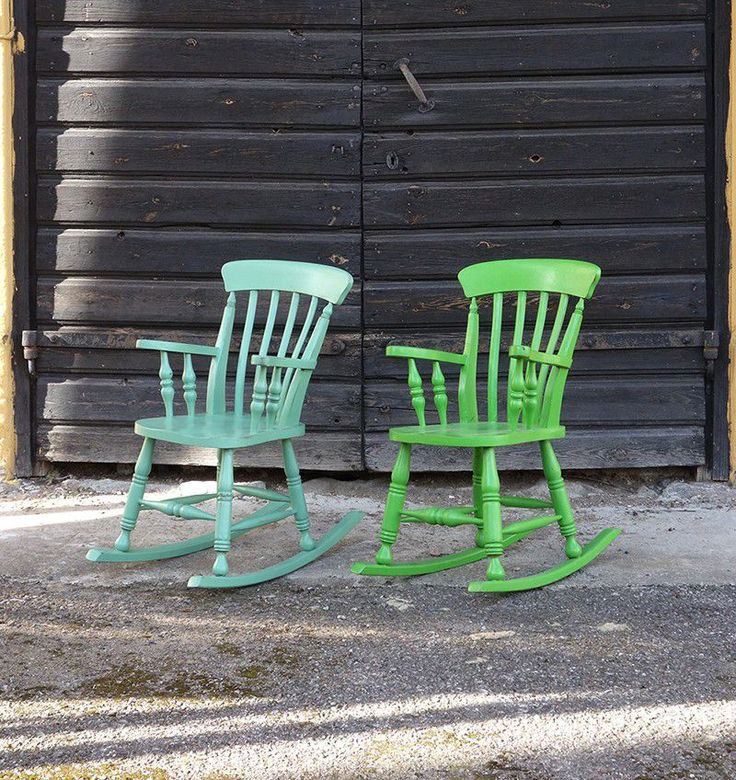 Dwellers Furniture - Two Baby Rocking Chair