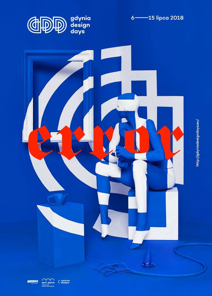 2018 Gdynia Design Days poster by Patryk Hardziej