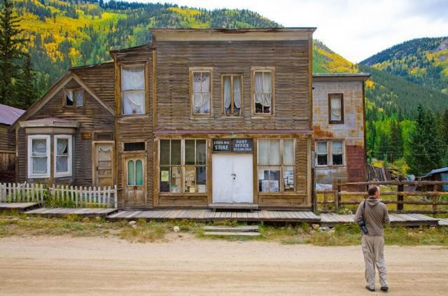 St. Elmo, a Colorado ghost town near Buena Vista