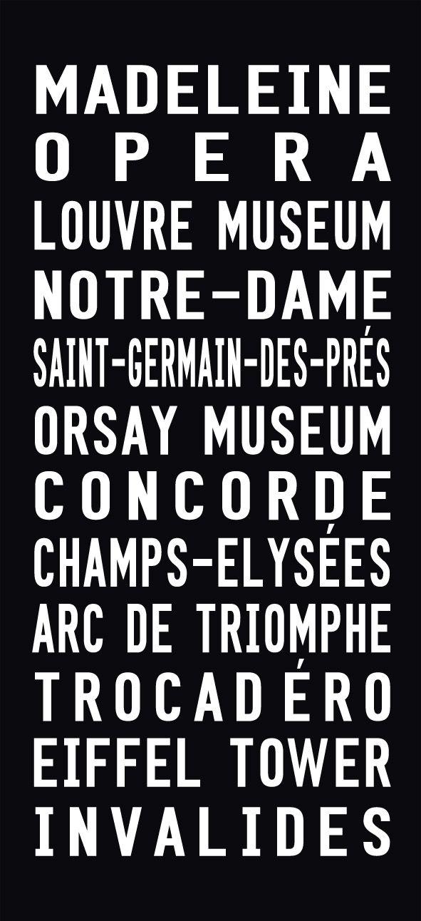 Paris Tram Scroll