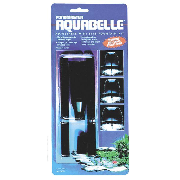 Pondmaster 02077 Aquabelle Variable Fountain Head Kit - 2032-4117