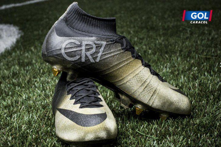 Cristiano Ronaldo estrenará guayos con microdiamantes | Información General Fútbol | Golcaracol.com