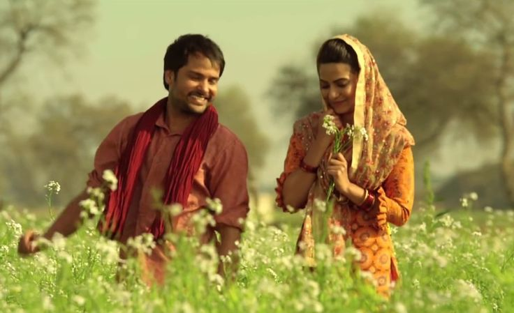 romantic scene from punjabi movie angrej .Get more wallpapers from www.dazzlingwallpapers.com