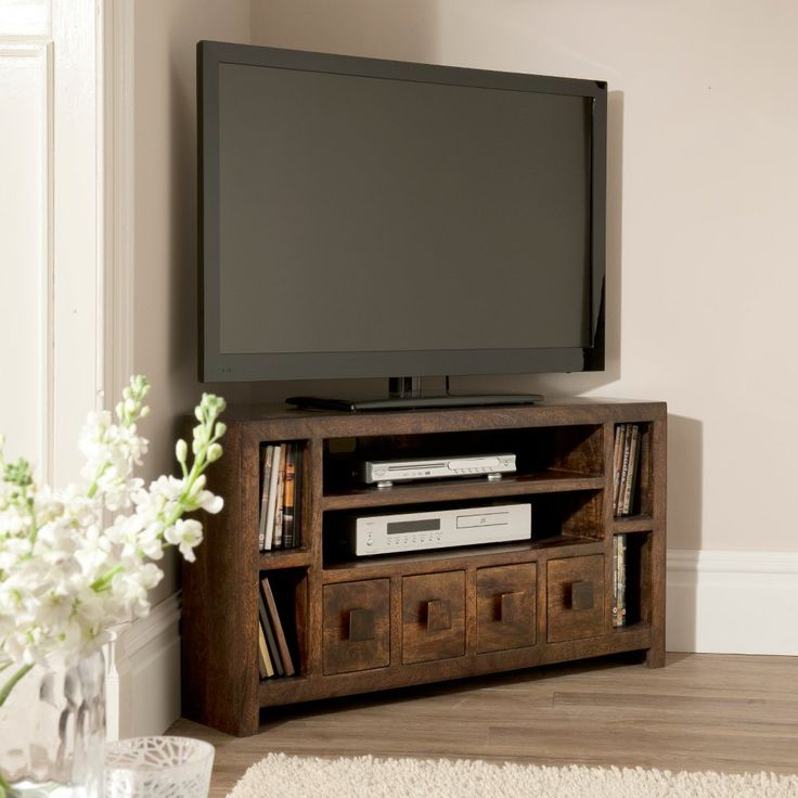 Best 25 corner tv cabinets ideas only on pinterest wood for Living room with 65 inch tv