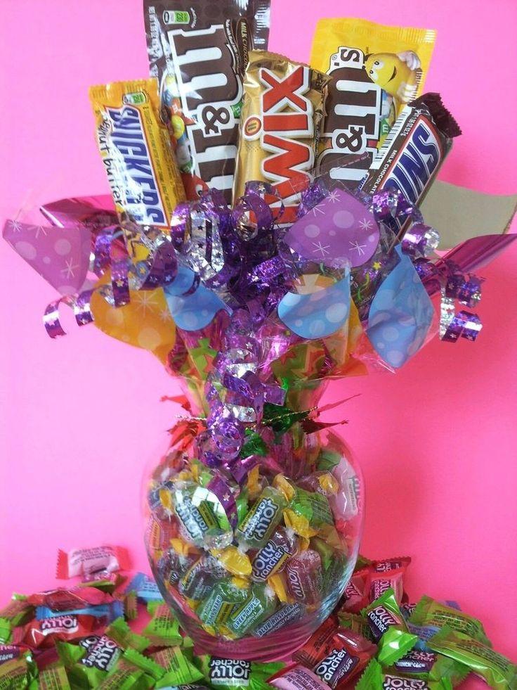 VALENTINE / ANNIVERSARY/BIRTHDAY/THANK YOU CHOCOLATE JOLLY RANCHER CANDY BOUQUET    eBay
