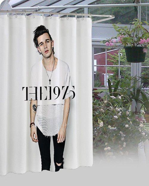 "Matt Healy The 1975 Band Luxury Design High Quality Shower Curtain 60"" x 72"" #Unbranded #Modern"