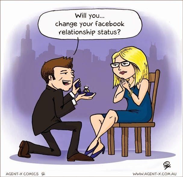 Oświadczyny w dobie Facebooka