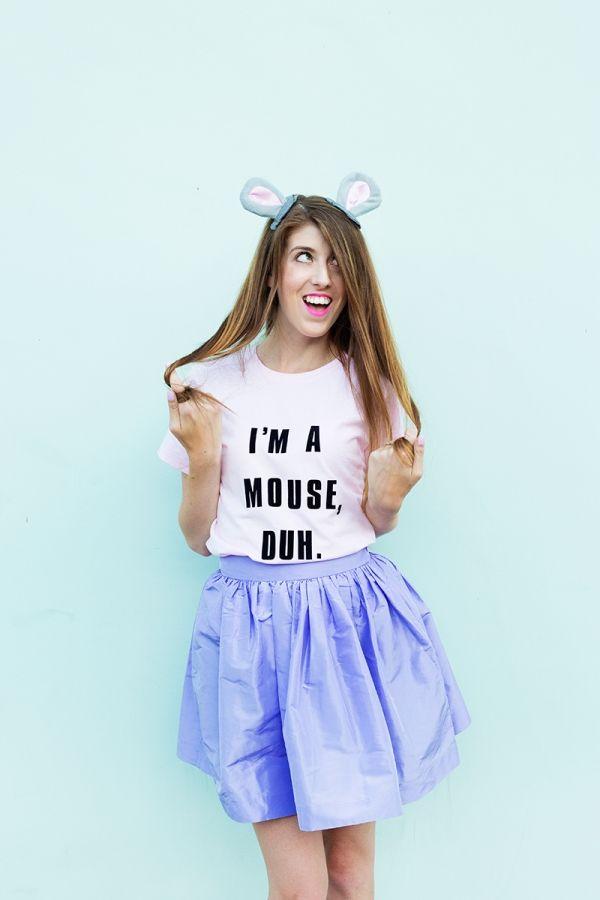 """DIY """"I'm A Mouse, Duh."""" Costume   studiodiy.com"""