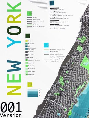 Future-Mapping-Company- As usual, British designer, Marcus Kirby, is on the cutting edge of map design - rejuvenating a craft of the past.  In addition to his London and world maps, he's added New York City to the collection.  Love.