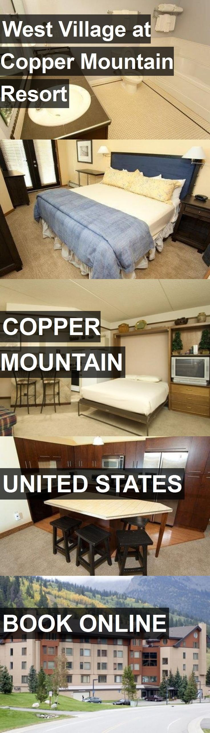 Hotel West Village at Copper Mountain Resort in Copper Mountain, United States. For more information, photos, reviews and best prices please follow the link. #UnitedStates #CopperMountain #hotel #travel #vacation