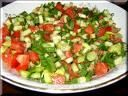 Turkish Cucumber and Tomato Salad Recipe - (Coban Salatasi)