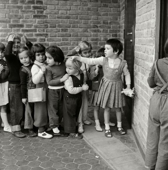 Alunos da escola Waldorf, São Paulo, c. 1957 Alice Brill