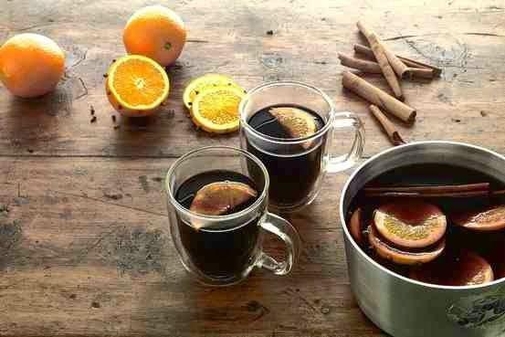 σπίτι μου, σπιτάκι μου: Ζεστό κρασί με μπαχαρικά (Glühwein)