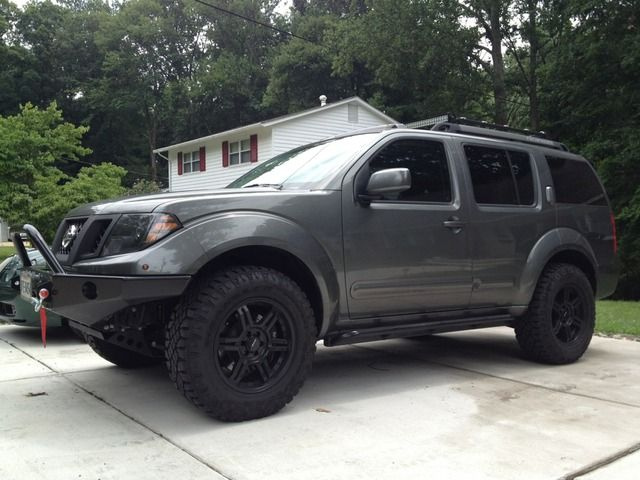 bumper for pathfinder r51