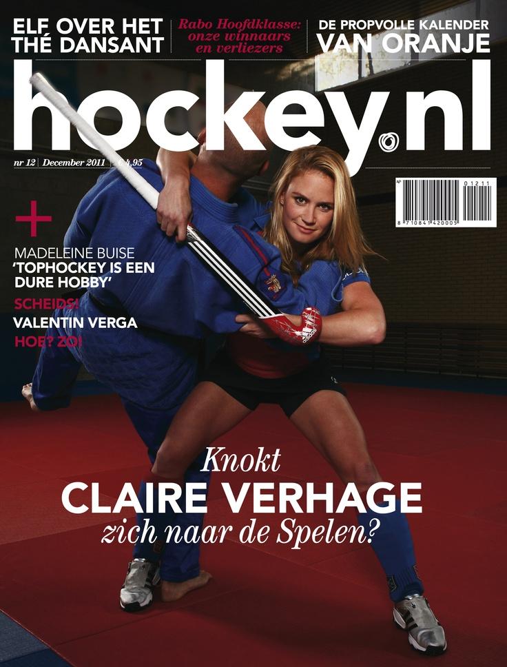 Knokt Claire Verhage zich naar De Spelen?.