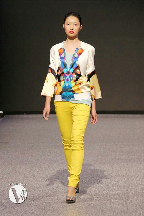 Jessie Liu | Vancouver Fashion Week SS15 | http://www.simplepairfashiondesign.com | #vfw